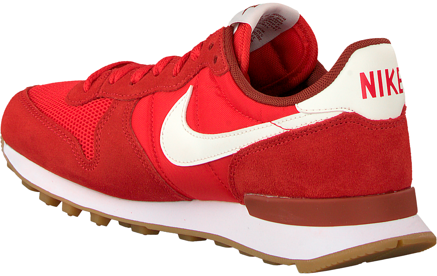 nike internationalist rood heren