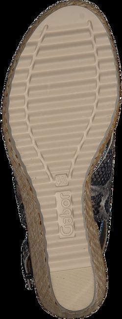 GABOR Espadrilles 791.1 en gris  - large