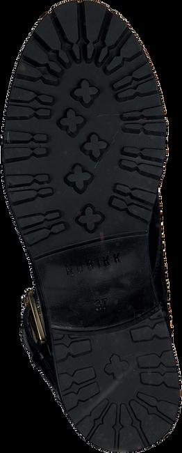 NUBIKK Bottines à lacets DJUNA AUBINE en noir  - large