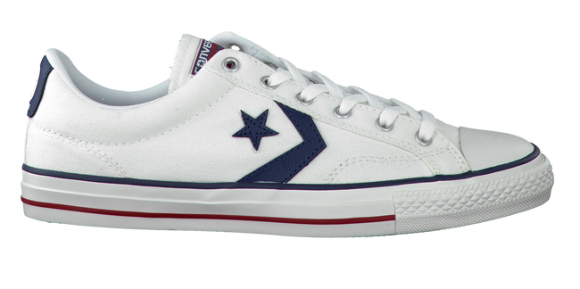 Witte CONVERSE Sneakers STAR PLAYER OX HEREN - large