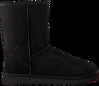 Zwarte UGG Vachtlaarzen CLASSIC SHORT II - medium
