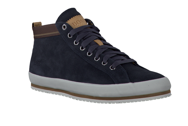 HUGO BOSS Baskets BAKIN en bleu - large