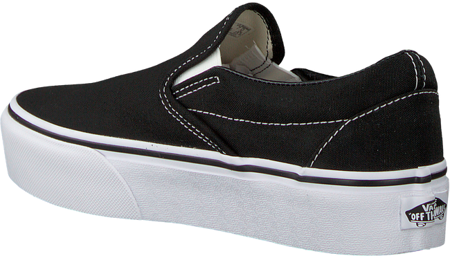 VANS Baskets CLASSIC SLIP-ON  PLATFORM CLAS en noir - large