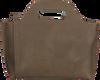 MYOMY Sac à main MY CARRY BAG HANDBAG en taupe  - small