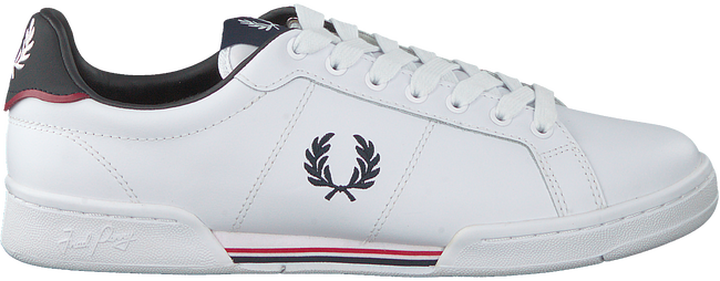 Witte FRED PERRY Lage sneakers B6202  - large