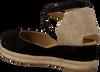 Zwarte UNISA Espadrilles CAUDE  - small