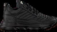 Zwarte RED-RAG Lage sneakers 13333  - medium