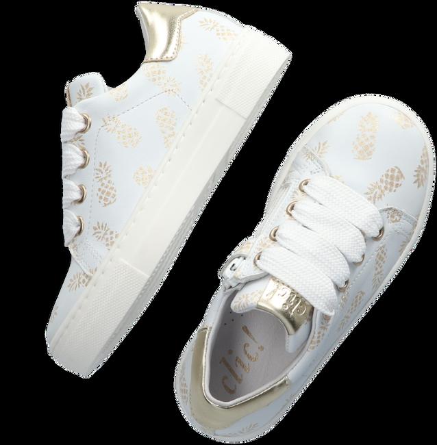 CLIC! Baskets 9493 en blanc - large