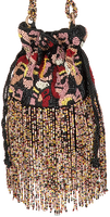 BECKSONDERGAARD Sac bandoulière VISAGE TORA BAG en multicolore  - medium