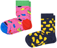 HAPPY SOCKS Chaussettes 2-PACK KIDS MOUSE en multicolore  - medium