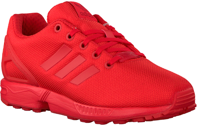 Rode ADIDAS Lage sneakers ZX FLUX J  - large