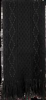 Zwarte LIU JO Sjaal SCIARPA TRECCE BORCHIE  - medium