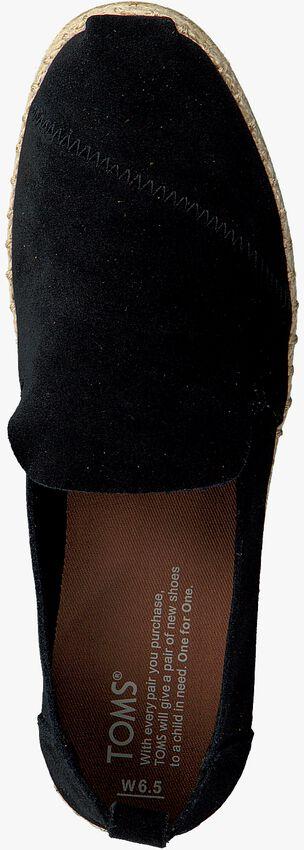 Zwarte TOMS Espadrilles DECONSTRUCTED ALPARGATA W  - larger