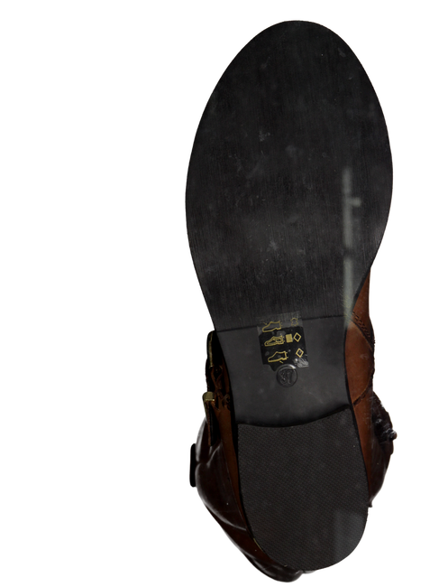 SPM Bottes hautes KA6092405 en cognac - large