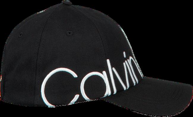 CALVIN KLEIN Casquette BIND EMBROIDERY CAP en noir  - large