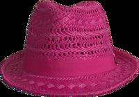 Roze LE BIG Hoed NEDA HAT  - medium