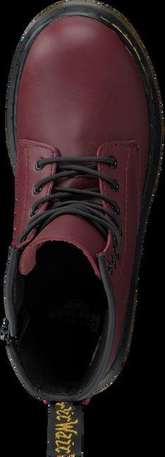 DR MARTENS Bottines à lacets DELANEY/BROOKLY en rouge - large