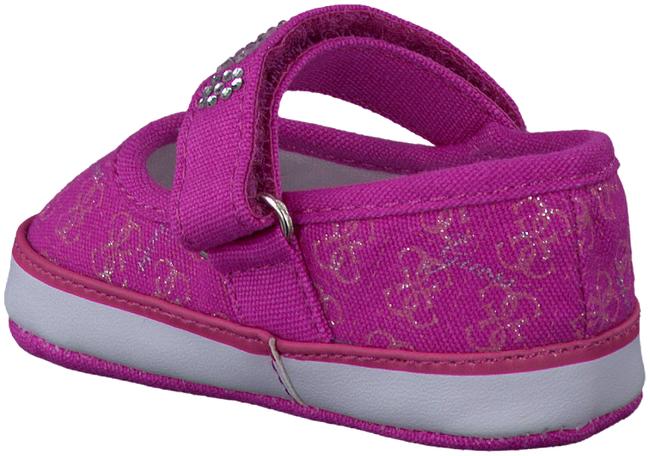 GUESS Chaussures bébé LA VERNE MJ LAYETTE en rose - large