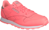 REEBOK Baskets CL LEATHER KIDS en rose - small
