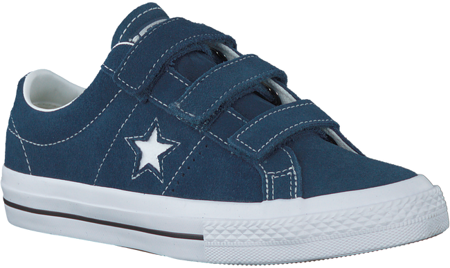 CONVERSE Baskets ONE STAR 3V OX en bleu - large