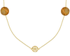 JEWELLERY BY SOPHIE Collier NECKLACE DESERT en or - small