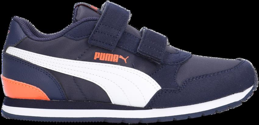 PUMA Baskets basses ST RUNNER V2 NL JR en bleu  - larger