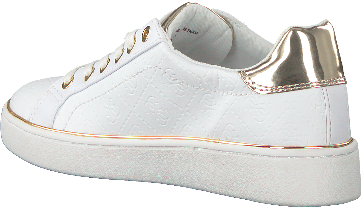 b501f017954 Witte GUESS Sneakers BECKIE. GUESS. Previous