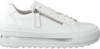 GABOR Baskets basses 498 en blanc  - small