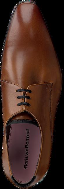 Cognac FLORIS VAN BOMMEL Nette schoenen 14095  - large
