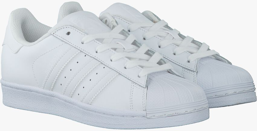 Witte ADIDAS Sneakers SUPERSTAR DAMES  - larger