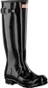 HUNTER Bottes en caoutchouc WOMENS ORIGINAL TALL en noir - small