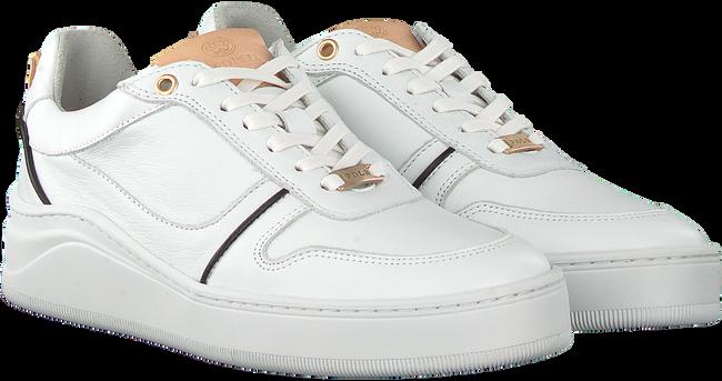 Witte FRED DE LA BRETONIERE Lage sneakers 101010128 FRS0713  - large