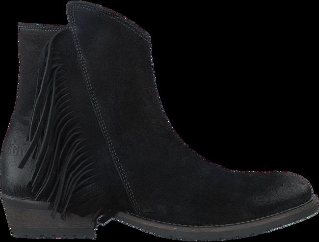 Zwarte GIGA Lange laarzen 8064  - large