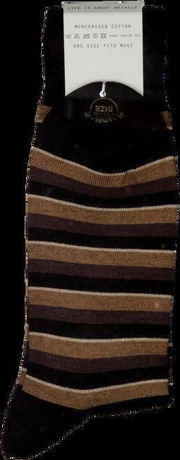 VAN LIER Chaussettes SOKKEN en marron - large