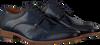 MAZZELTOV Richelieus 5053 en bleu  - small