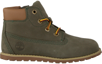 Groene TIMBERLAND Veterboots POKEY PINE 6IN BOOT KIDS - medium