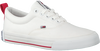 Witte TOMMY HILFIGER Lage sneakers LOWCUT ESSENTIAL  - small