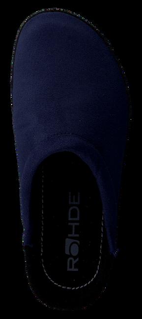 ROHDE ERICH Chaussons 2292 en bleu - large