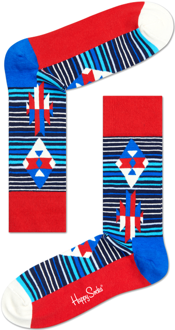 Blauwe HAPPY SOCKS Sokken SI01 - large