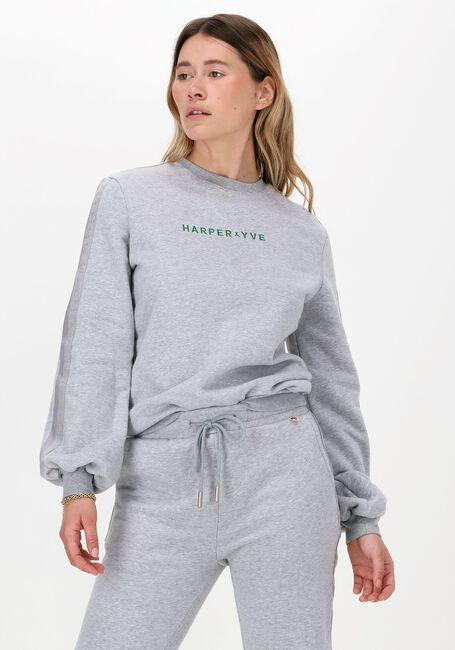 Lichtgrijze HARPER & YVE Sweater YOANN-SW  - large