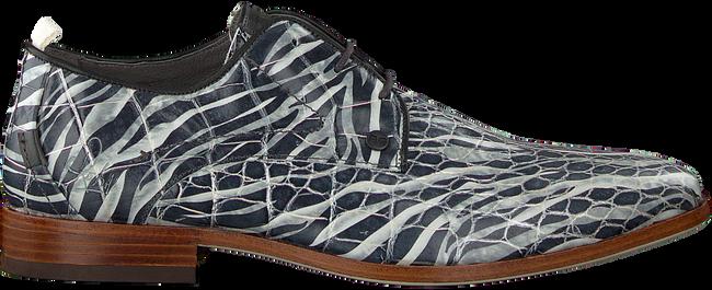 Grijze REHAB Nette schoenen GREG CROCO ZEBRA  - large