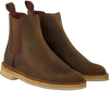 Bruine CLARKS Chelsea boots 26138267 DESERT PEAK - small