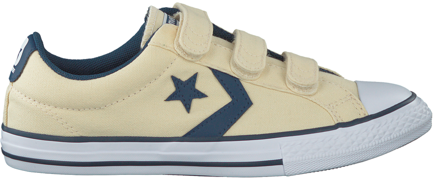 Witte CONVERSE Sneakers STAR PLAYER 3V OX KIDS  - larger