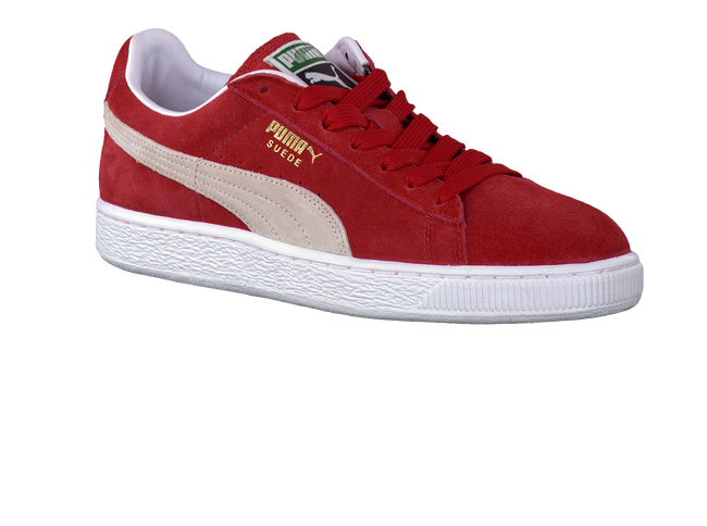 PUMA Baskets 352634 JONGENS en rouge - large