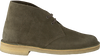 CLARKS Bottines à lacets 26138111 DESSERT BOOT en vert - small
