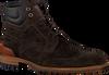 FLORIS VAN BOMMEL Bottines à lacets 10816 en marron  - small