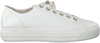 Witte PAUL GREEN Lage sneakers 4938  - small