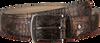 REHAB Ceinture BELT CROCO en marron  - small