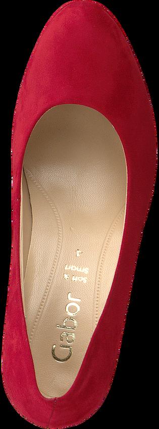 GABOR Escarpins 270 en rouge  - larger