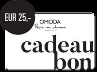 OMODA CADEAUBON EUR 25,- - medium